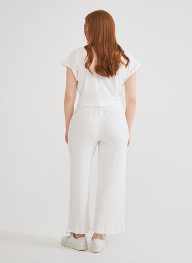 Love My Body Pantolon Beyaz